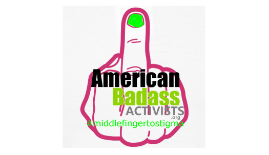 american badass activists logo