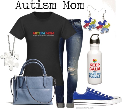Autism Fashion for #AutismMoms | #NeurodivergentFashion For #ActuallyAutistic Women, Autistic Moms & Autistic Moms of Autistics . . . Excluded. Like Always.