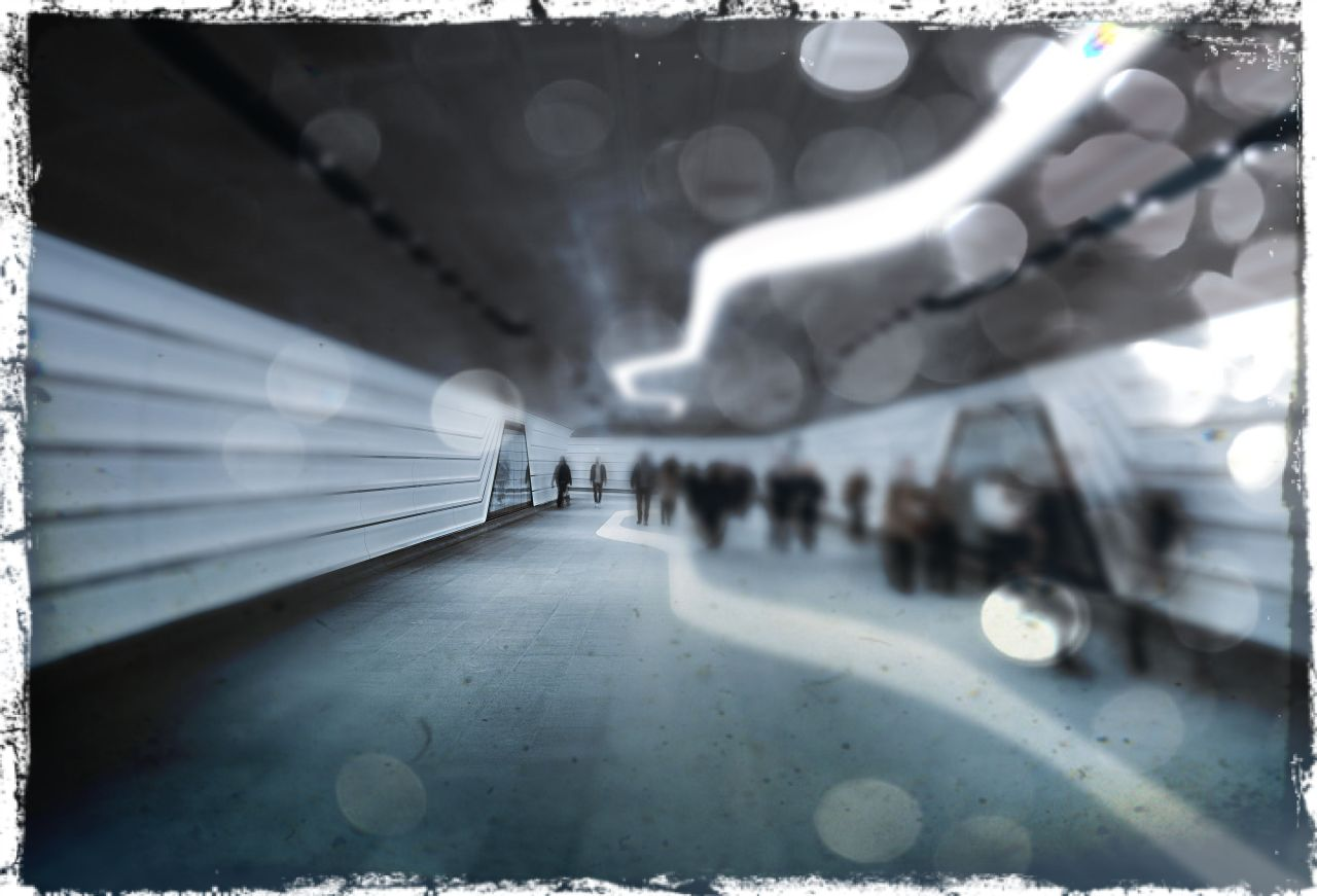Photo Credit: Christopher Burns on Unsplash - People Walking In Underground Corridor
