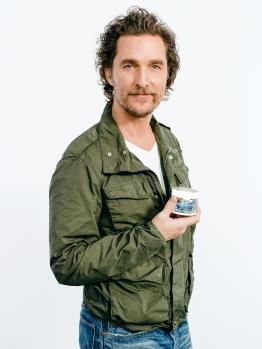 Matthew McConaughey Kiehl's partnershipCredit: Kiehl's