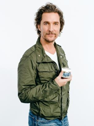 Matthew McConaughey Kiehl's partnership Credit: Kiehl's