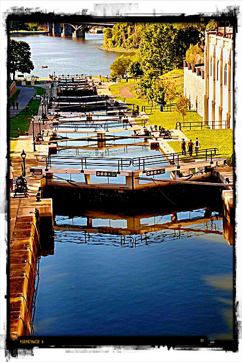 Quebec river locks
