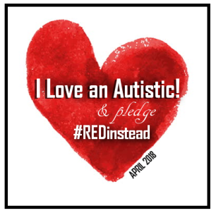 heartILOVEAUTISTICREDINSTEAD