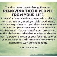 Meme | Feel No Guilt Removing Toxic People From Your Life