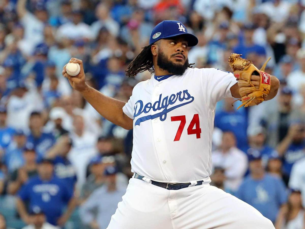L.A. Dodgers Star Kenley Jansen Battles Baby Mama During Postseason
