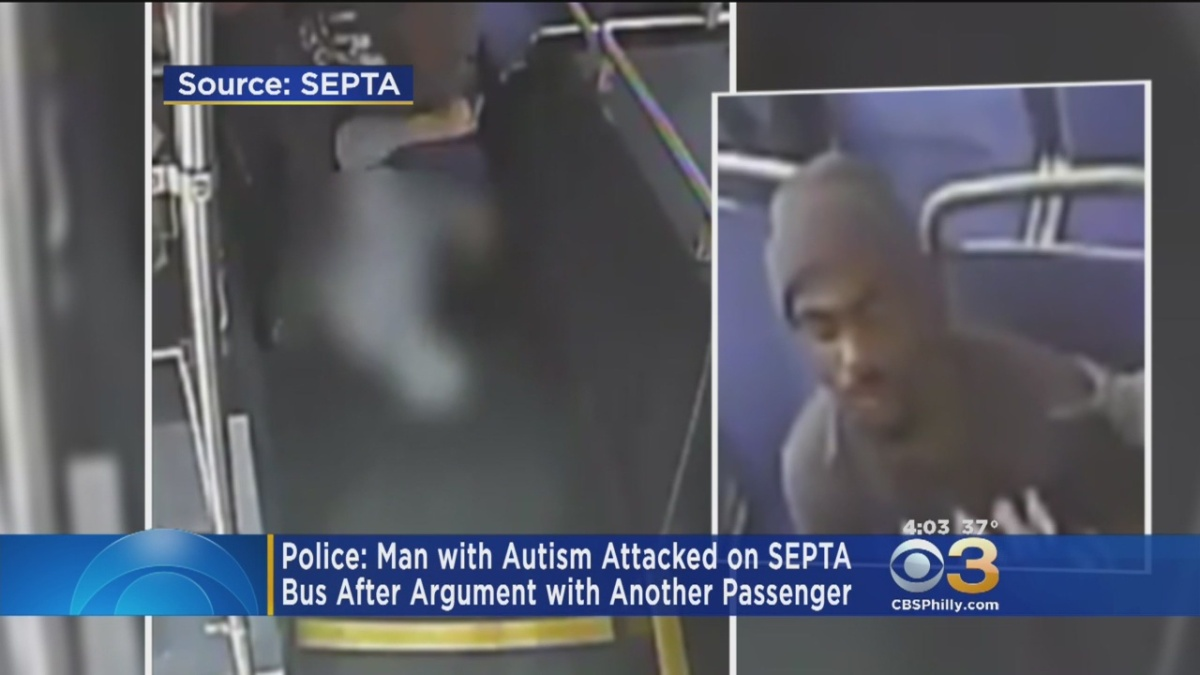 Suspect Caught On Video Attacking Man With Autism On SEPTA Bus: Officials « CBS Philly