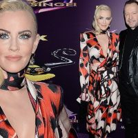 #Antivaxxer Jenny McCarthy flashes cleavage as she headlines Masked Singer event with Donnie Wahlberg, while the world fights #measles
