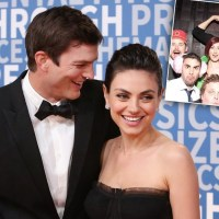 Ashton Kutcher & Mila Kunis Attend Scientology Wedding With Accused Rapist Danny Masterson