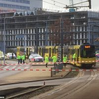 Holland shooting: Gunman opens fire on tram in Dutch city of Utrecht | Daily Mail Online