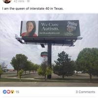 As Seen On Facebook |  Fucking Roby Mitchell has put up a billboard honoring Kerri in Amarillo, TX!