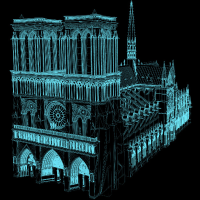How Digital Scans of Notre Dame Can Help Architects Rebuild the Burned Cathedral | Open Culture