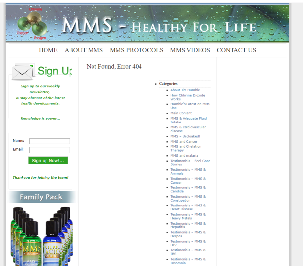 Miracle Mineral Supplement – MMS | Next Major Toxic Hazard … Dr