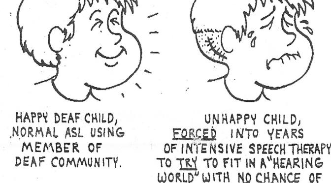 Fierce Autistic Advocate: Deaf Civil Rights Parallels Autistic Civil Rights