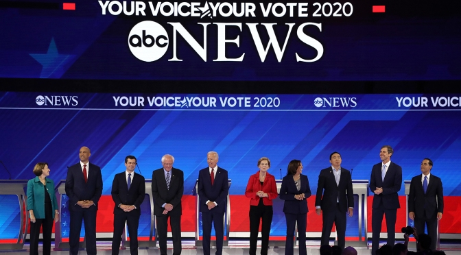 Despite Repeated Calls For Unity, Democrats Throw Debate Punches On Health Plans | California Healthline
