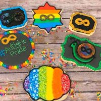 As Seen On Facebook | Autistic Pride Cookies & Fundraiser | Sugar Anarchy