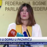 Press conference on situation of abuse of children living in institution in Bosnia, Herzegovina. | Danijela Turner