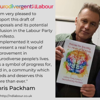 Chris Packham supports the inclusion of Neurodivergent hopes and ambitions in the UK's Labour Party Manifesto. |  Âûtistic News Feed